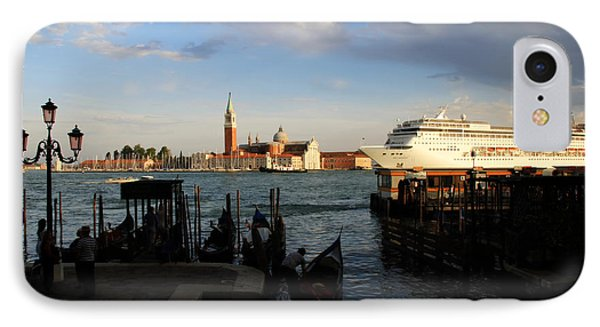 Venice Cruise Ship Phone Case by Andrew Fare