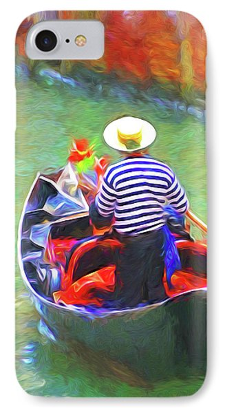 Venice Gondola Series #3 Phone Case by Dennis Cox