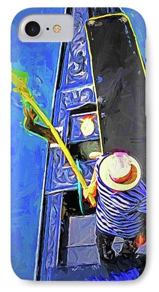 Venice Gondola Series #4 Phone Case by Dennis Cox