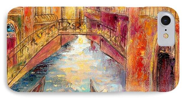 Venice I IPhone Case by Shijun Munns