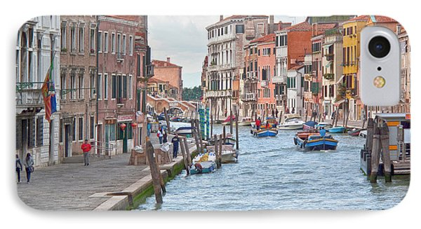 Venice In Pastel  Phone Case by Heiko Koehrer-Wagner