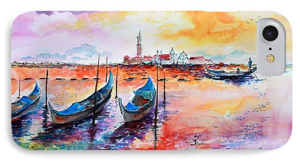 Venice Italy Gondola Ride IPhone Case by Ginette Callaway