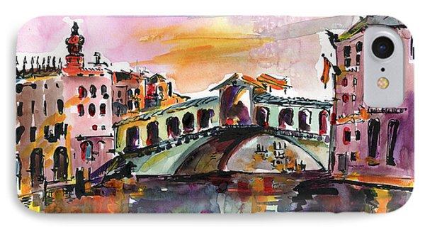Venice Italy Silence Rialto Bridge IPhone Case