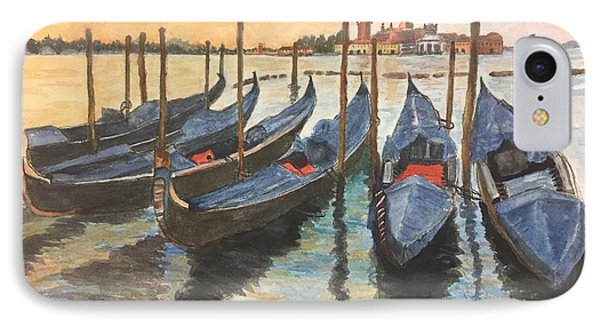 IPhone Case featuring the painting Venice by Lucia Grilletto