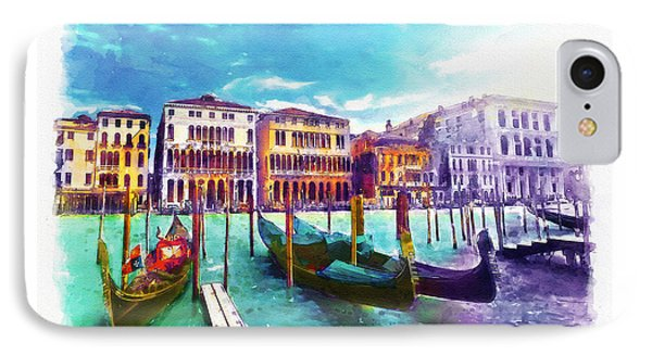 Venice IPhone Case by Marian Voicu
