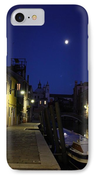 Venice Moon IPhone Case by Pat Purdy