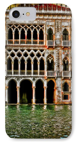 IPhone Case featuring the photograph Venice Palace  by Harry Spitz