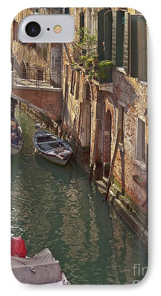 Venice Ride With Gondola Phone Case by Heiko Koehrer-Wagner