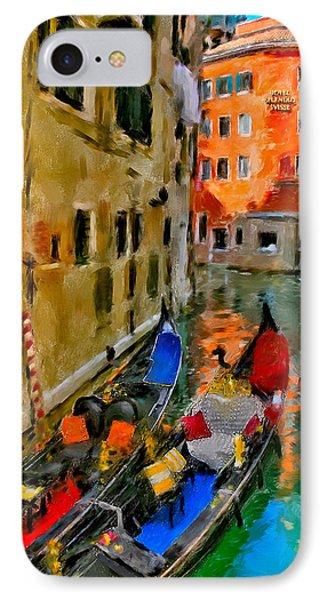 IPhone Case featuring the photograph Venice. Splendid Svisse by Juan Carlos Ferro Duque
