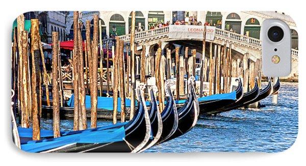 Venice Sunny Rialto Bridge Phone Case by Heiko Koehrer-Wagner