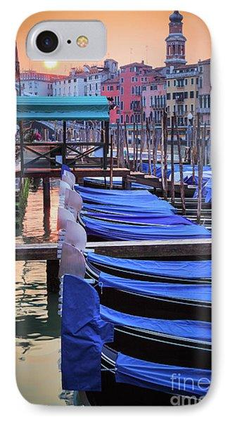 Venice Sunrise Phone Case by Inge Johnsson