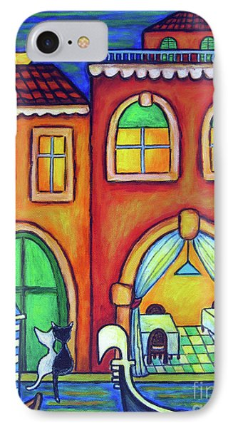 Venice Valentine II Phone Case by Lisa  Lorenz
