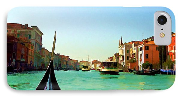 IPhone Case featuring the photograph Venice Waterway by Roberta Byram