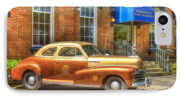1948 Chevrolet Stylemaster Coupe Chatham County Police Car IPhone Case