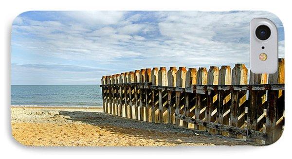 Ventnor Beach Groyne Phone Case by Rod Johnson