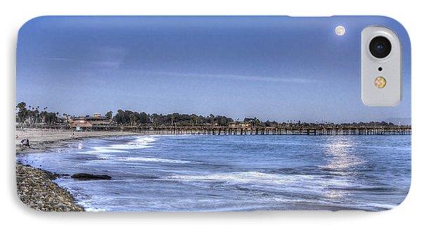 Ventura Pier Moonrise IPhone Case