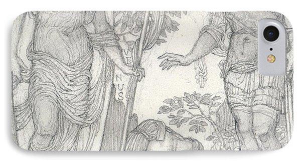 Venus Bringing Armor To Aeneas IPhone Case by Sir Edward Coley Burne-Jones