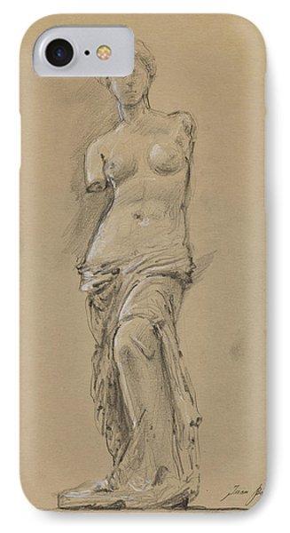 Venus De Milo IPhone Case by Juan Bosco