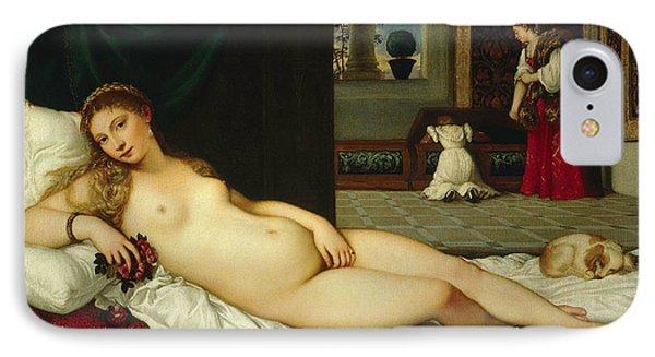 Venus Of Urbino  IPhone Case by Titian