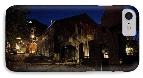 IPhone Case featuring the photograph Venus Setting In Jerome Az by Ron Chilston