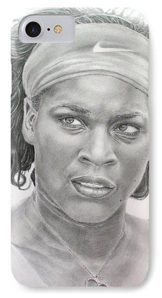 Venus Williams IPhone 7 Case by Blackwater Studio