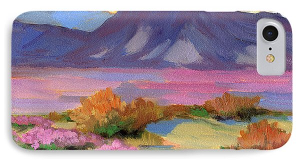 Verbena 1 IPhone Case by Diane McClary
