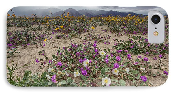Verbena And Primrose IPhone Case by Peter Tellone