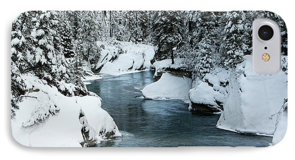 Verdant Creek - Winter 6 IPhone Case by Stuart Turnbull