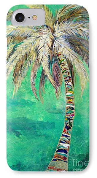 Verdant Palm IPhone Case by Kristen Abrahamson