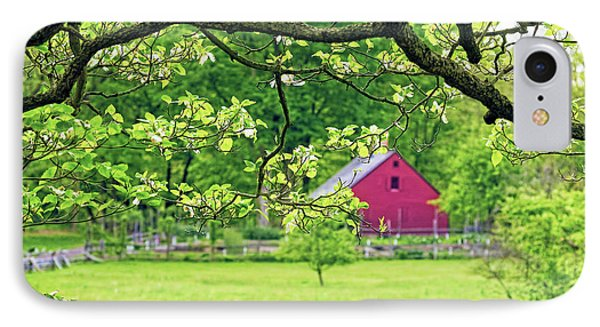 Verdant Spring In New Jersey IPhone Case by George Oze