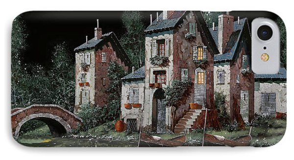 Verde Notturno IPhone Case by Guido Borelli