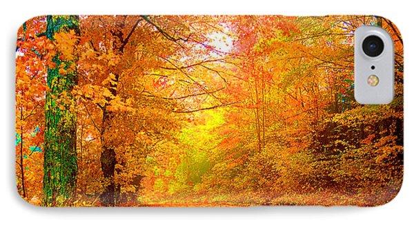 Vermont Autumn Phone Case by Vicky Brago-Mitchell