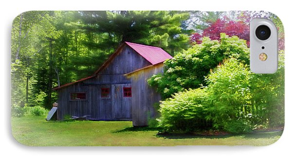 Vermont Barn 2 IPhone Case