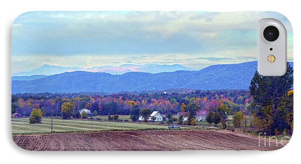 Vermont Countryside In Autumn Phone Case by Catherine Sherman