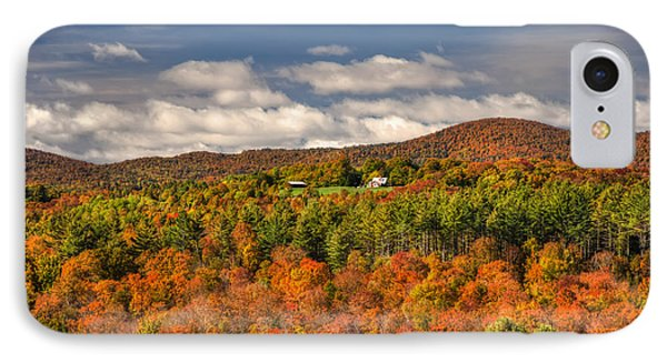 Vermont Fall Foliage  IPhone Case