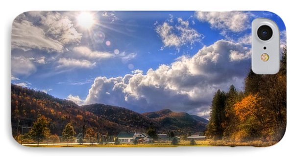 Vermont Green Mountains Autumn IPhone Case by Joann Vitali
