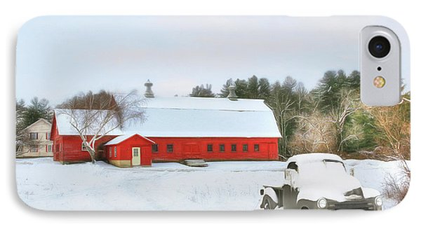 IPhone Case featuring the digital art Vermont Memories by Sharon Batdorf