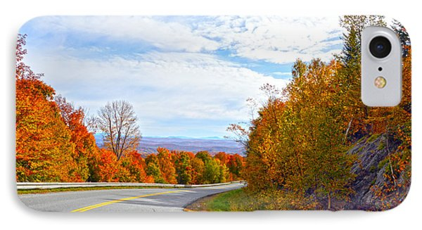 Vermont Mountain Road Phone Case by Catherine Sherman