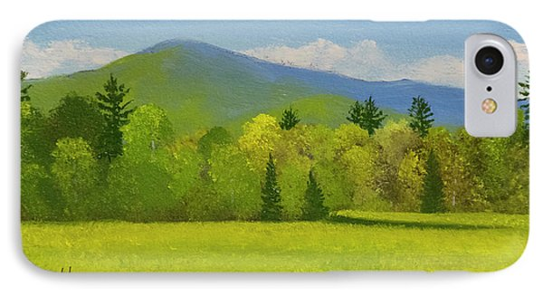 IPhone Case featuring the painting Vermont Spring by Frank Wilson