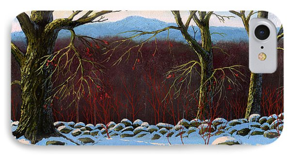 Vermont Stone Wall Phone Case by Frank Wilson