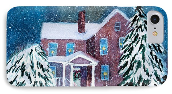 Vermont Studio Center In Winter Phone Case by Donna Walsh