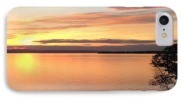 Vermont Sunset, Lake Champlain IPhone Case by Felipe Adan Lerma
