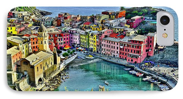 Vernazza Alight IPhone Case by Frozen in Time Fine Art Photography