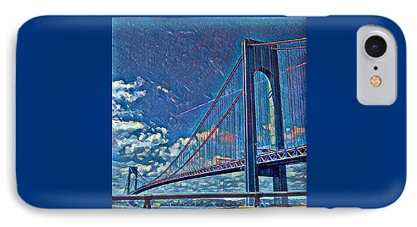 Verrazano Bridge IPhone Case