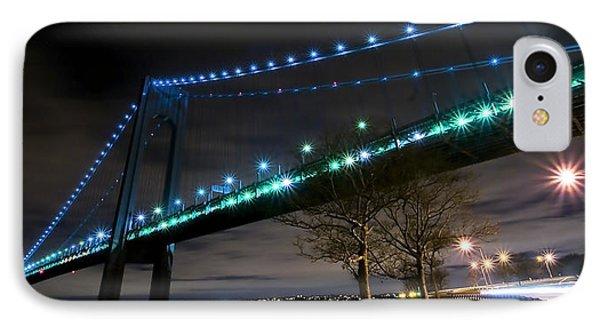 Verrazano-narrows Bridge Phone Case by Svetlana Sewell