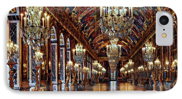 Versailles Hall Of Mirrors IPhone Case by Russ Harris