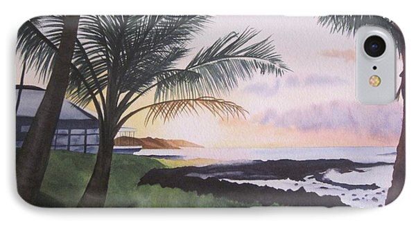 IPhone Case featuring the painting Version 2 by Teresa Beyer