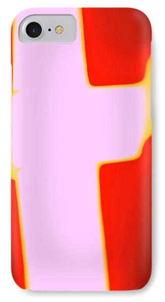 Vertical Flag Dk II IPhone Case by Jan W Faul