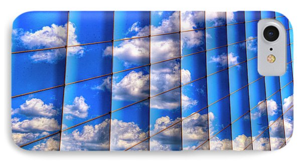 IPhone Case featuring the photograph Vertical Sky by Paul Wear