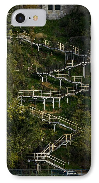 Vertical Stairs IPhone Case by Celso Bressan